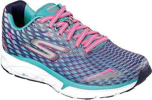 Skechers Go Run Forza 2021, Zapatillas de Deporte Exterior para Mujer, Azul (Nvaq), 38.5 EU: Amazon.es: Zapatos y complementos