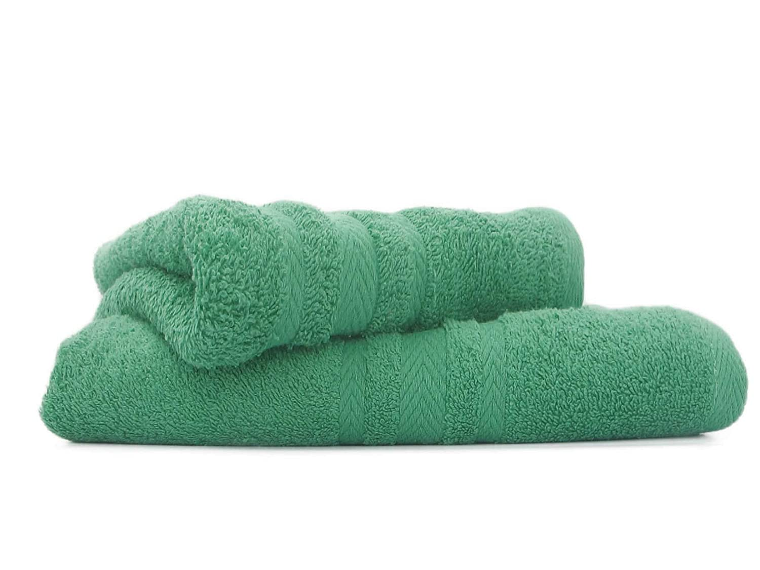 HBS Supreme Soft Egyptian Cotton 2 Large Bath Towels Sage Green 70 x 125cms RS