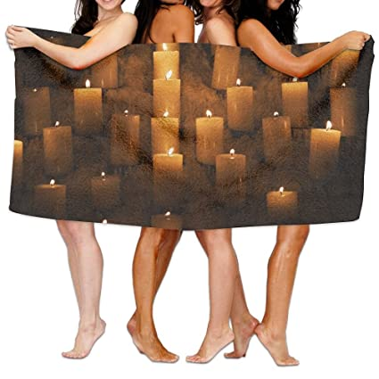 Amazon.com: Xianjingshui 31x51 inch High Absorbency Bath Towel ...