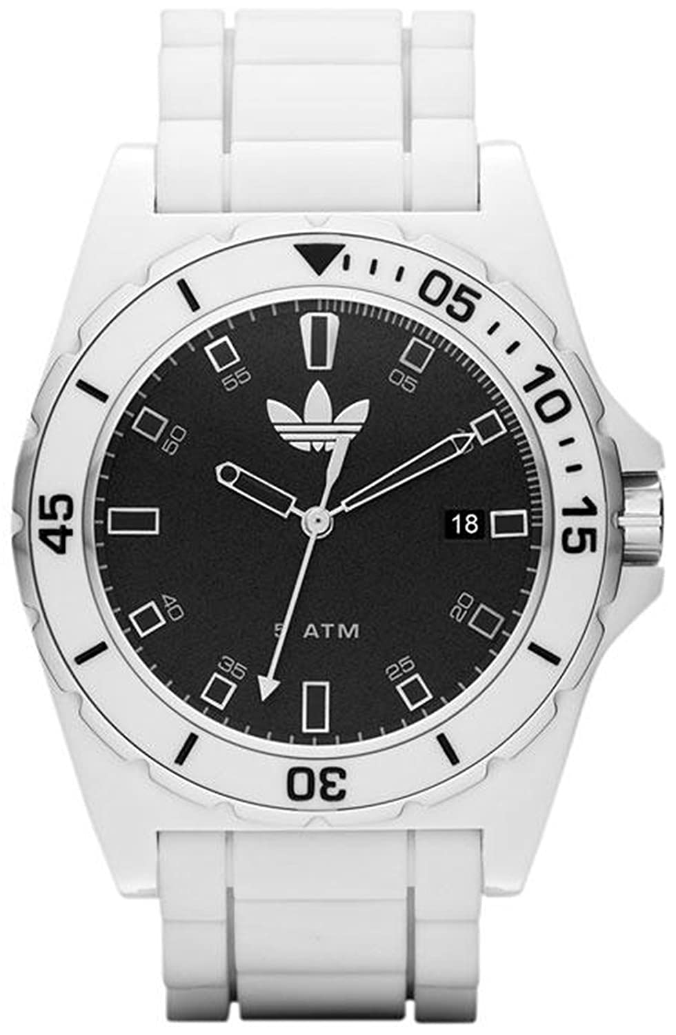 Amazon.com: Adidas Unisex Melbourne ADH2749 White Rubber ...