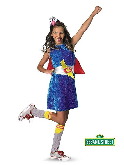 Disguise 38675 – G Kids Barrio Sésamo Grover disfraz, tamaño ...