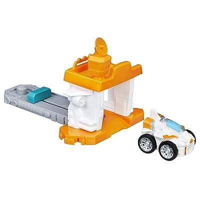 Playskool Heroes Transformers Rescue Bots Flip Racers Airport Blastoff Blades: Toys & Games