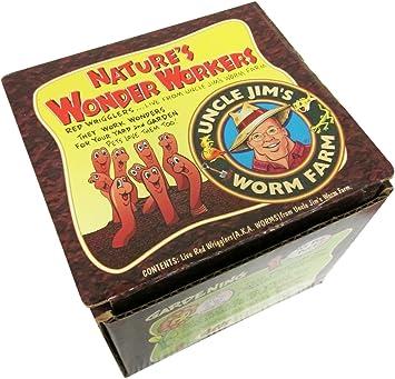 Amazon.com: Uncle Jim granja de gusanos. Incluye 250 ...
