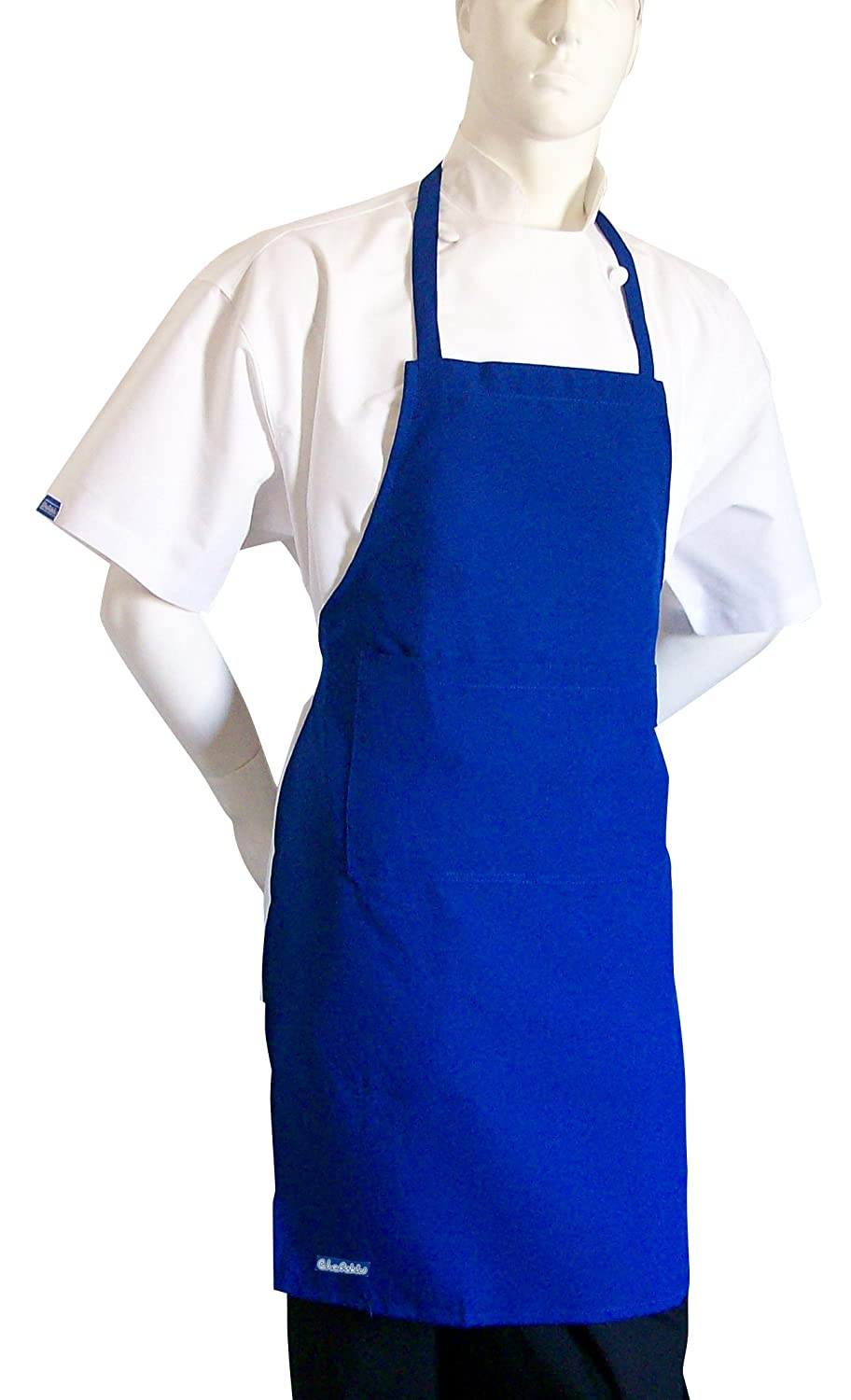 Blue apron dress - Amazon Com Chefskin Royal Blue Apron Kids Children Fits 7 12 Yr Olds 19x28 Inches Real Fabric Home Kitchen