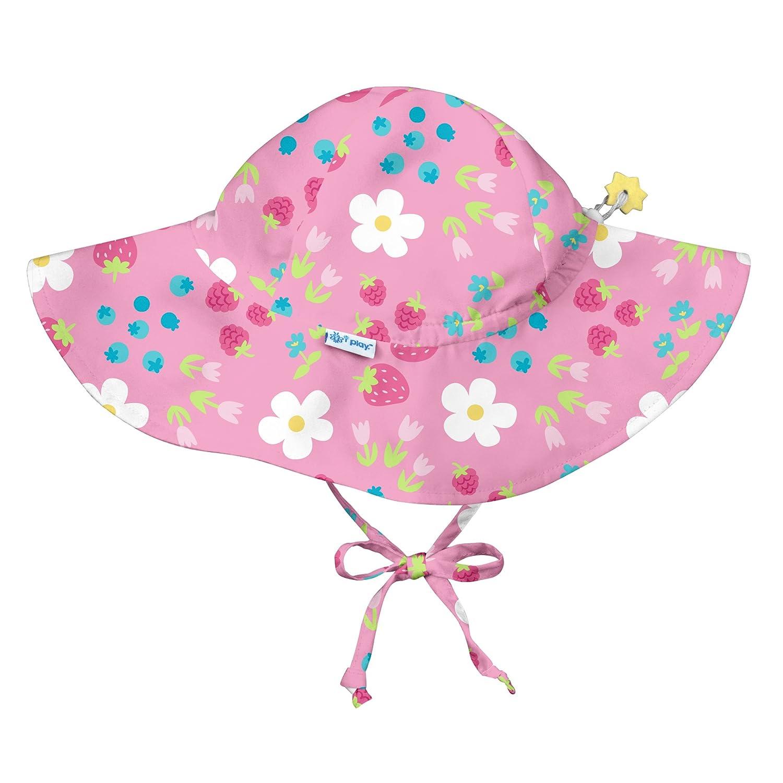 787160-2301-53 Brim Hat Pink Daisy Fruit 2-4 years i play. Mehrfarbig