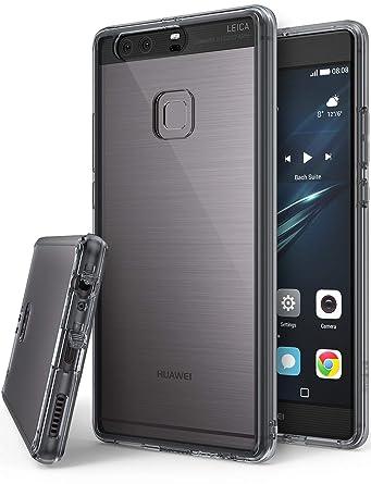 Amazon.com: Ringke FUSION para Huawei P9 Plus, Negro (Smoke ...