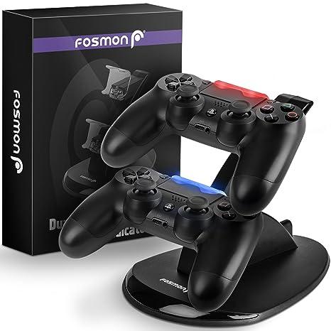 Fosmon Cargador del controlador PSS DualShock, Muelle de ...