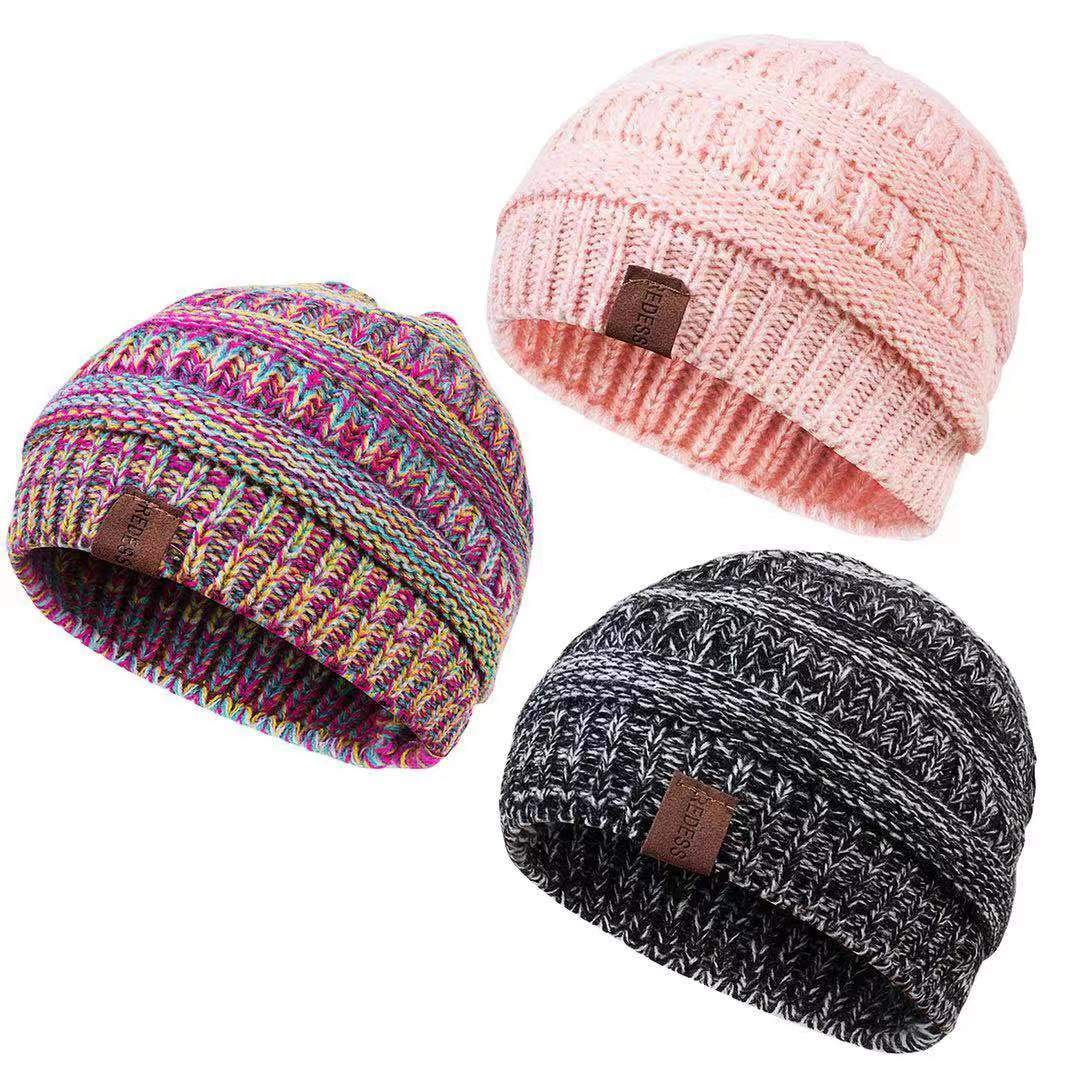 Century Star Infant Toddler Beanies Baby Knit Fleece Lined Beanie Warm HatsFor Boys and Girls