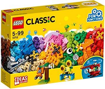 Lego 10712 Classic Bricks And Gears Building Set With Eyes And Fun Functions For Kids 5 Years Old Amazon Co Uk Toys Games