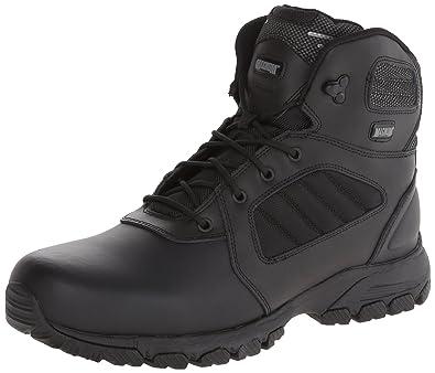Magnum Men's Response III 6.0 Slip Resistant Work Boot,Black,11 ...