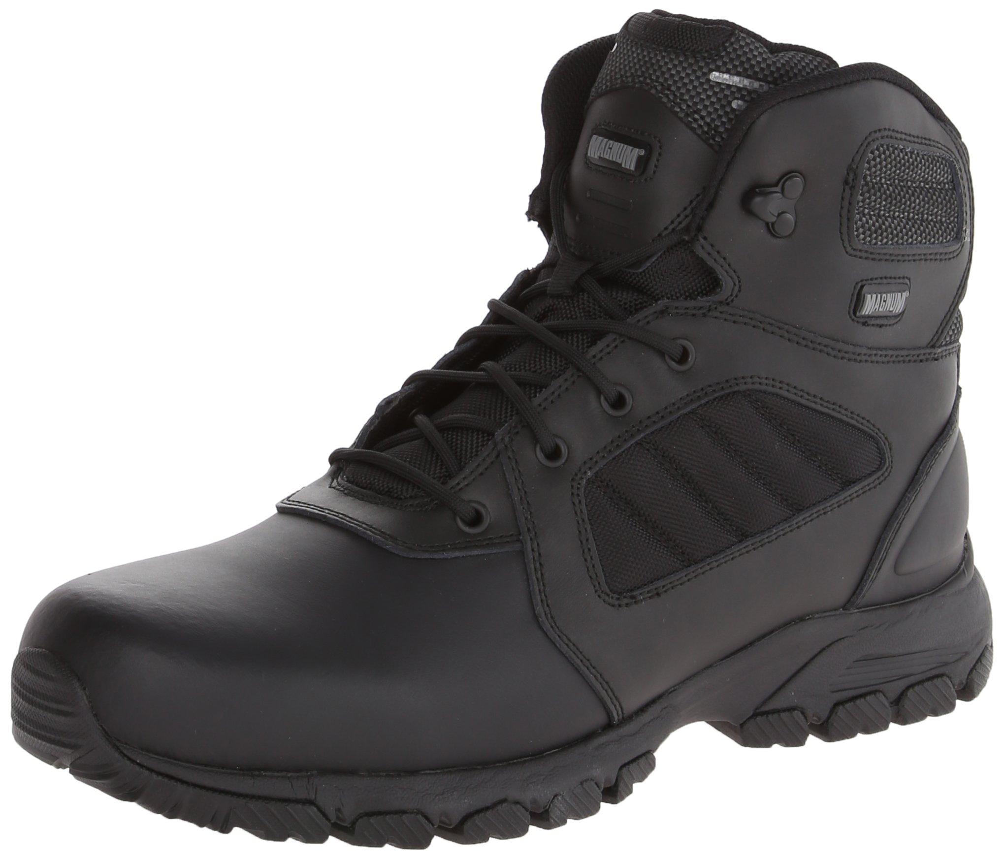 Magnum Men's Response III 6.0 Slip Resistant Work Boot,Black,10.5 W US