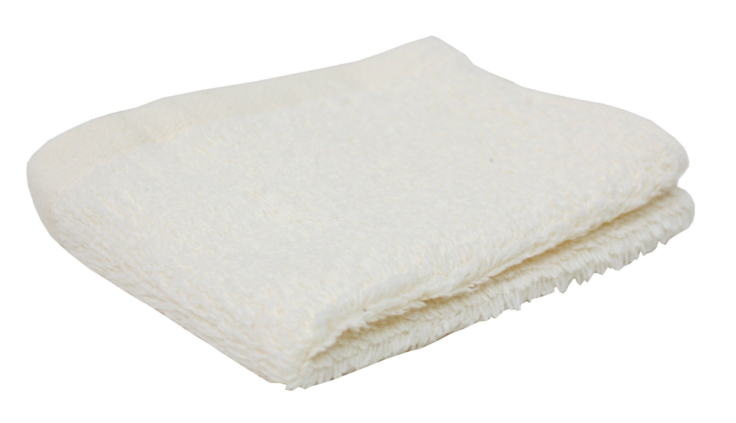 Premium 144-Piece Bulk Pack Cotton Washcloth Set, 12x12'',  Hotel & Spa Quality, Super Soft and Ultra Absorbent for Commercial Business-Off White