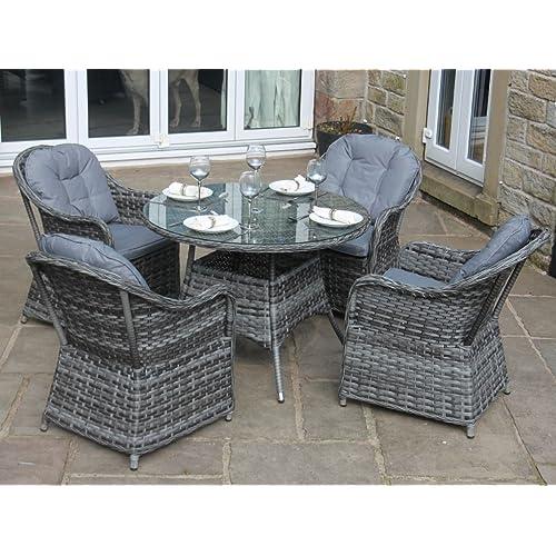Luxury Rattan Garden Furniture Amazon Co Uk