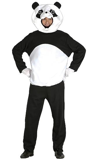 Guirca Disfraz Adulto Oso Panda, Talla 48-50 (84999.0): Amazon.es: Juguetes y juegos