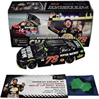 $274 » AUTOGRAPHED 2017 Martin Truex Jr. #78 Furniture Row MONSTER ENERGY SERIES CHAMPION (Raced Version with Confetti) Rare…