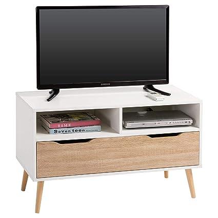 Mueble Tv Rack Hi Fi Muebles Television Mesa Mesa Auxiliar Salon