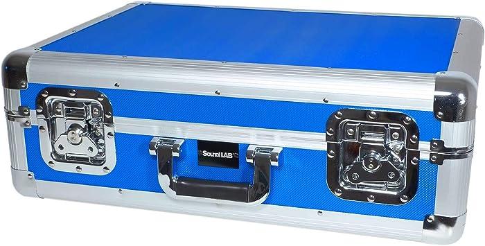 Caja CD azul de alta calidad de estilo euro Contiene 70 CDs con Lift Off Tapa y forro Soft: Amazon.es: Electrónica