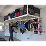 """SafeRacks Overhead Garage Storage Combo Kit 