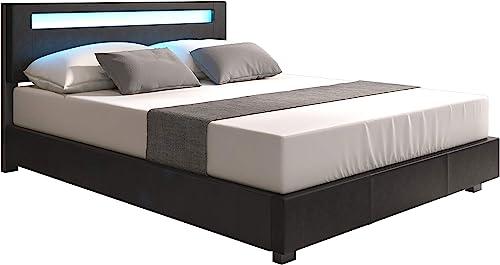 Platform upholstered Bed Italian Premium Modern Design