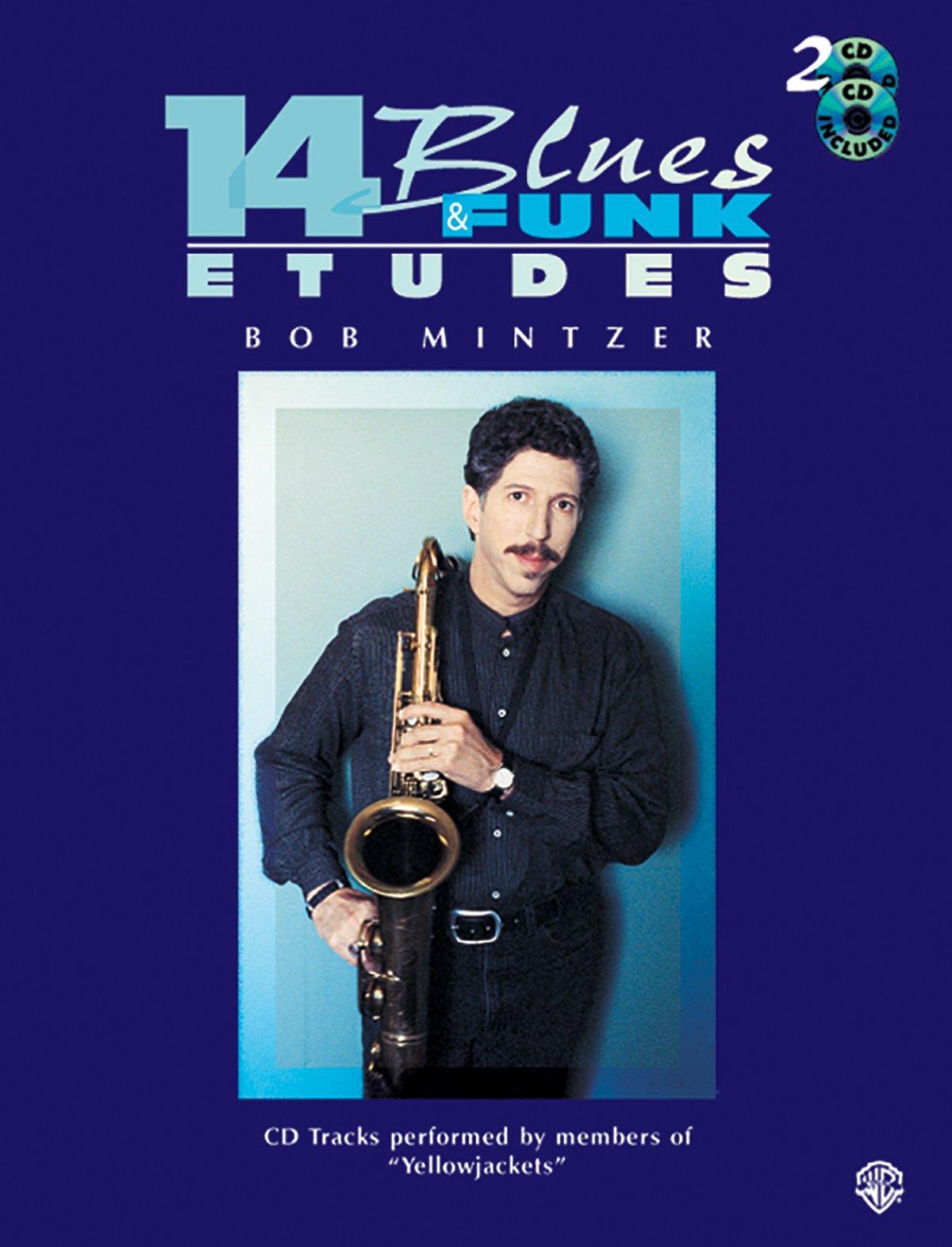14 Blues & Funk Etudes: C Instrument (Flute, Guitar, Keyboard), Book & 2 CDs