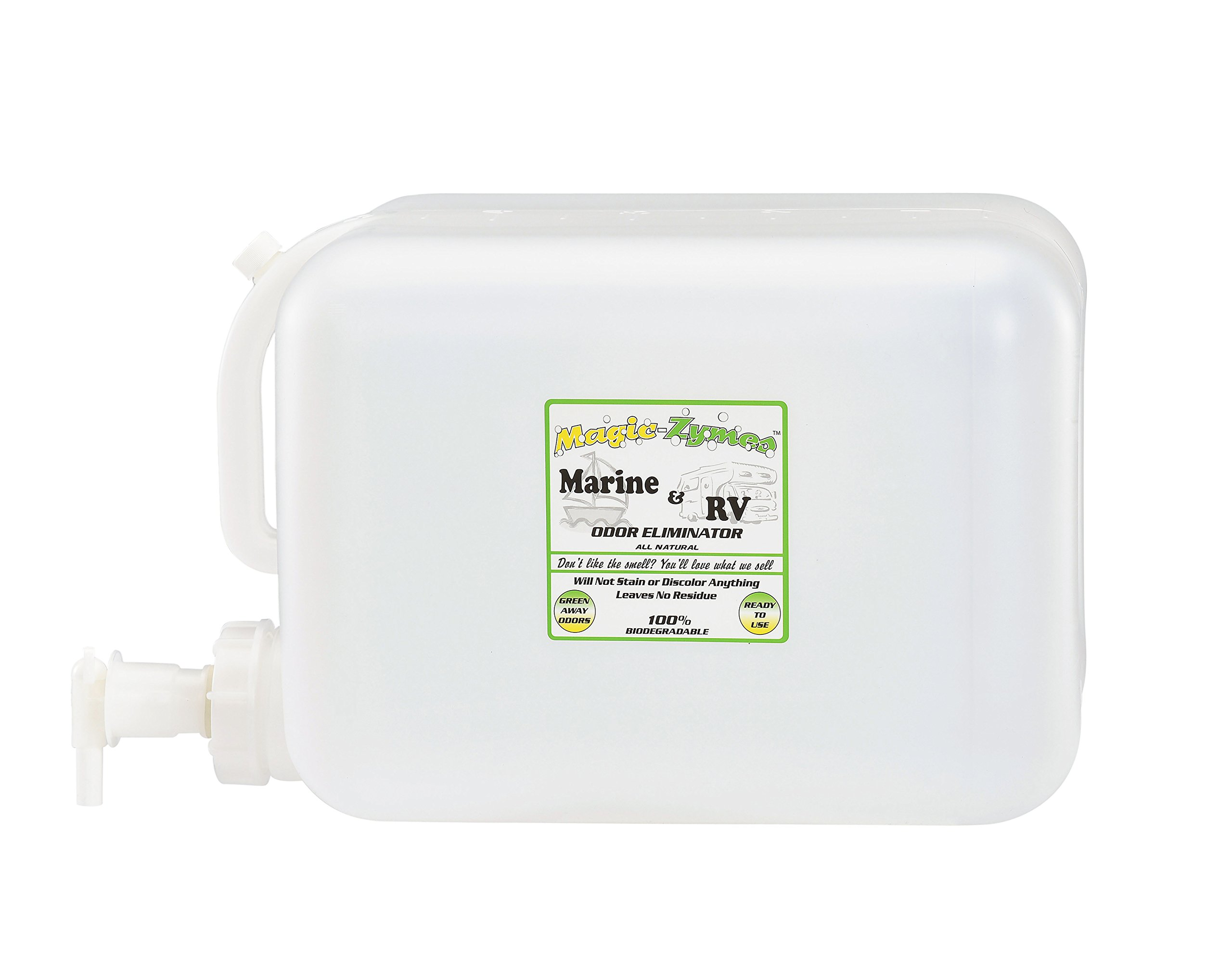 Magic-Zymes Marine & RV All Natural Odor Remover 5 Gallon Bottle by Magic-Zymes (Image #1)
