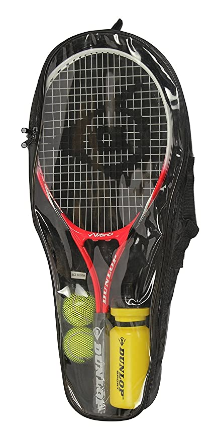 Buy DUNLOP BEGINNER NITRO 25 TENNIS KIT   SET Online at Low Prices in India  - Amazon.in 552e4e197c