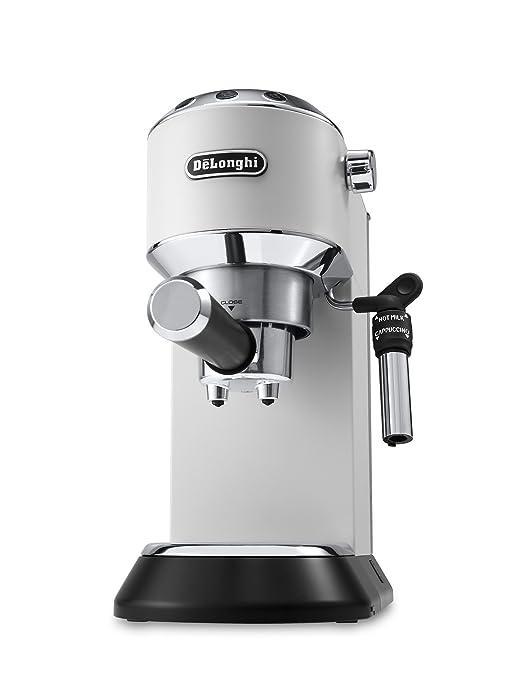 93 opinioni per De'Longhi EC685.W Dedica, Macchina per caffè espresso manuale, 1350W, Bianco