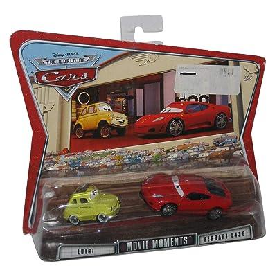 Cars Movie Moments Luigi & Ferrari F430: Toys & Games