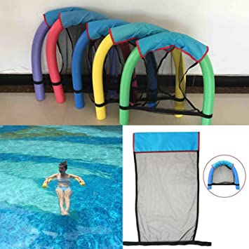 Yayoshow Pool Noodle Chair Floating Chair Swimming Pool Seats Pool Floating  Chair (Detected By ROHS