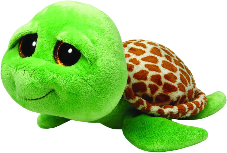 Ty Beanie Boos Zippy the Green Turtle Plush Regular Big-eyed Stuffed Animal