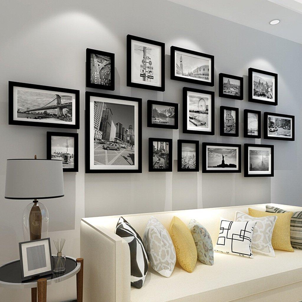 Massivholzrahmen, moderne Wohnzimmer große Größe Bilderrahmen ...
