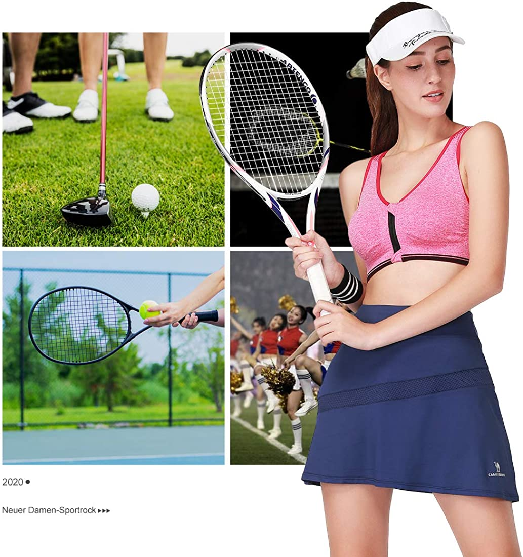 vers/átil el/ástica Informal s/ólida etc. Fitness Yoga para Deporte Falda de Tenis para Mujer b/ásica Minifalda
