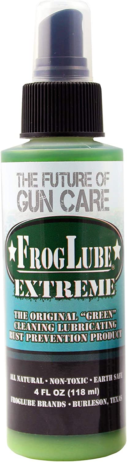 Frog Lube CLP Liquid OR Spray 4 oz Bottle (PACKAGE MAY VARY), Green, 14706