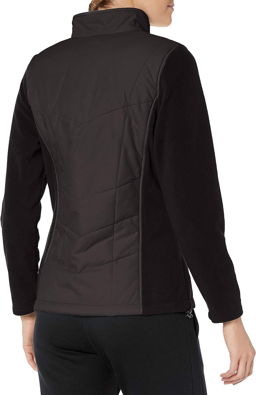 Outdoors Fleece Mock Neck with Overlay Outerwear New Balance