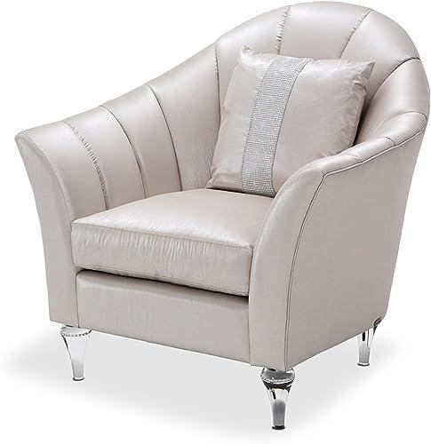Michael Amini Maritza Channel Back Chair