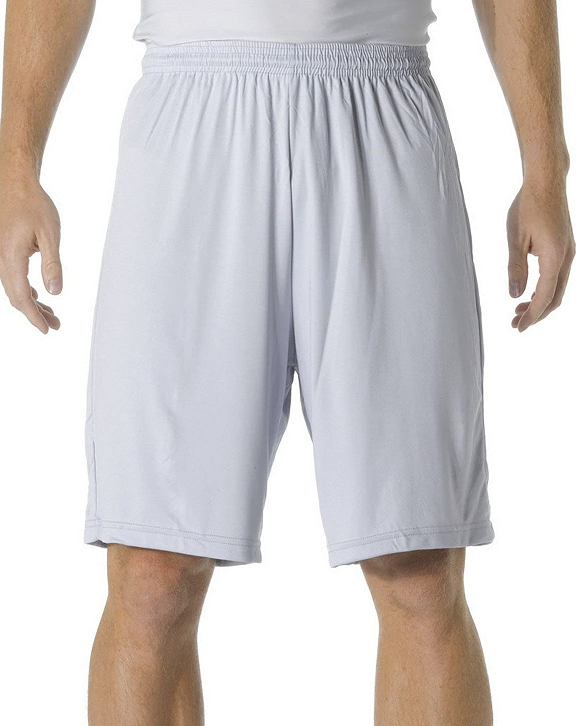 A4 N5283 Adult Cooling Performance 9 Shorts Silver X-Large