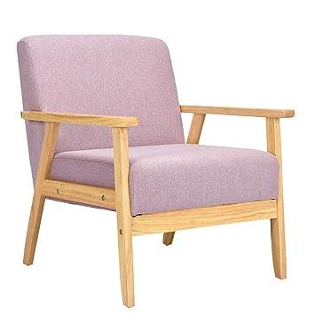 Amazon.com: Elegante silla de centro con brazos para sala de ...