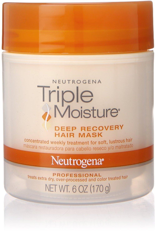 Neutrogena Triple Moisture Deep Recovery Hair Mask 6 oz (Pack of 6)
