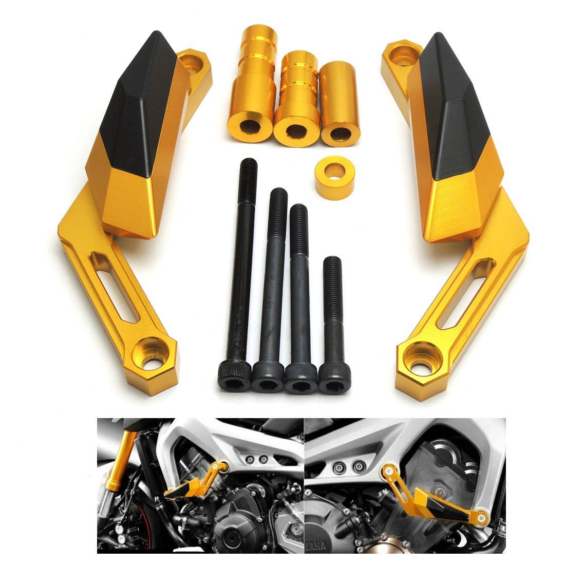MT 09 Tamponi Paratelaio Protezioni Telaio Per MT-09 2013 to 2016 MT09 tracer 2014 to 2016 XSR900 2016