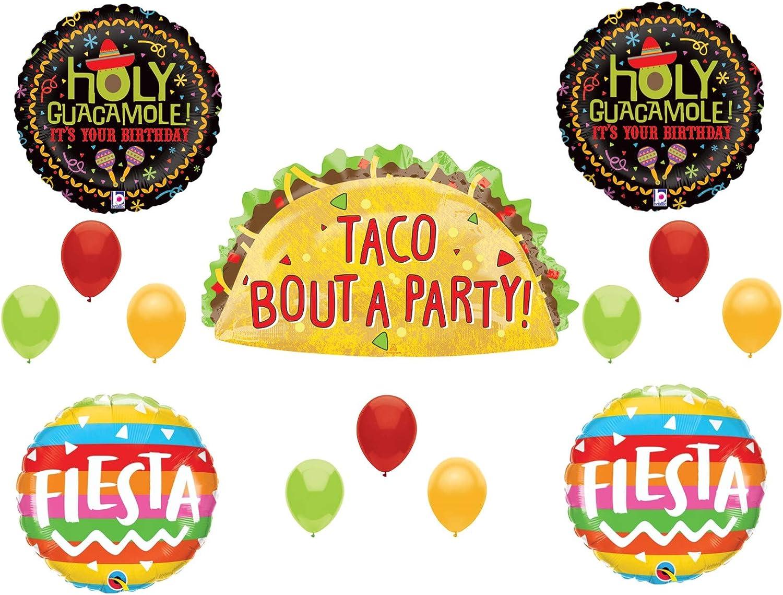 """33/"""" Taco Bout a Party Taco Balloon"""