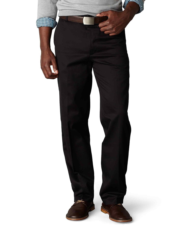 Dockers Men's Classic Fit Signature Khaki Pant Flat-Front D3 at ...