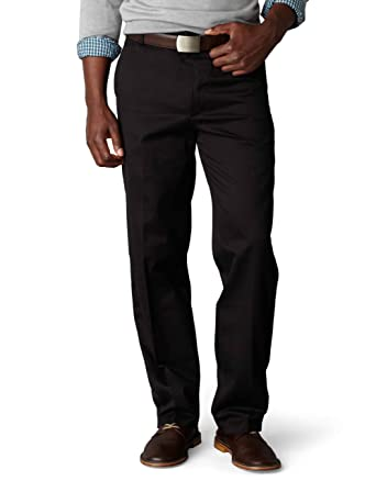 a5a876afbb7 Dockers Men s Georgetown Game Day Alpha Khaki Slim Tapered Flat Front Pant