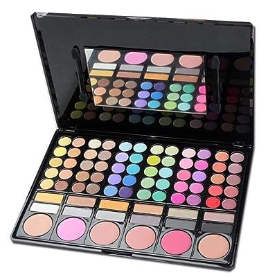 BrilliantDay 78 Couleurs Palette Fard à Paupières Kit Maquillage Beauté Set#1