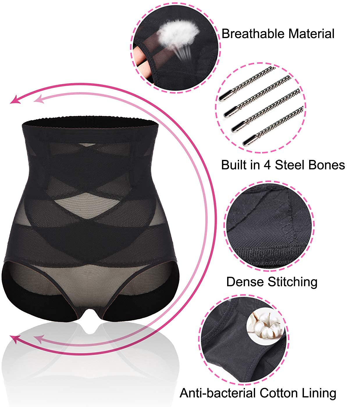 SLIMBELLE Tummy Control Knickers