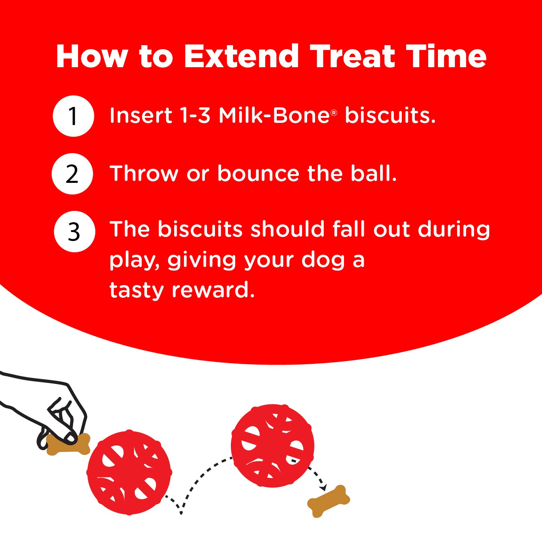 amazon com milk bone active biscuit dispensing ball interactive