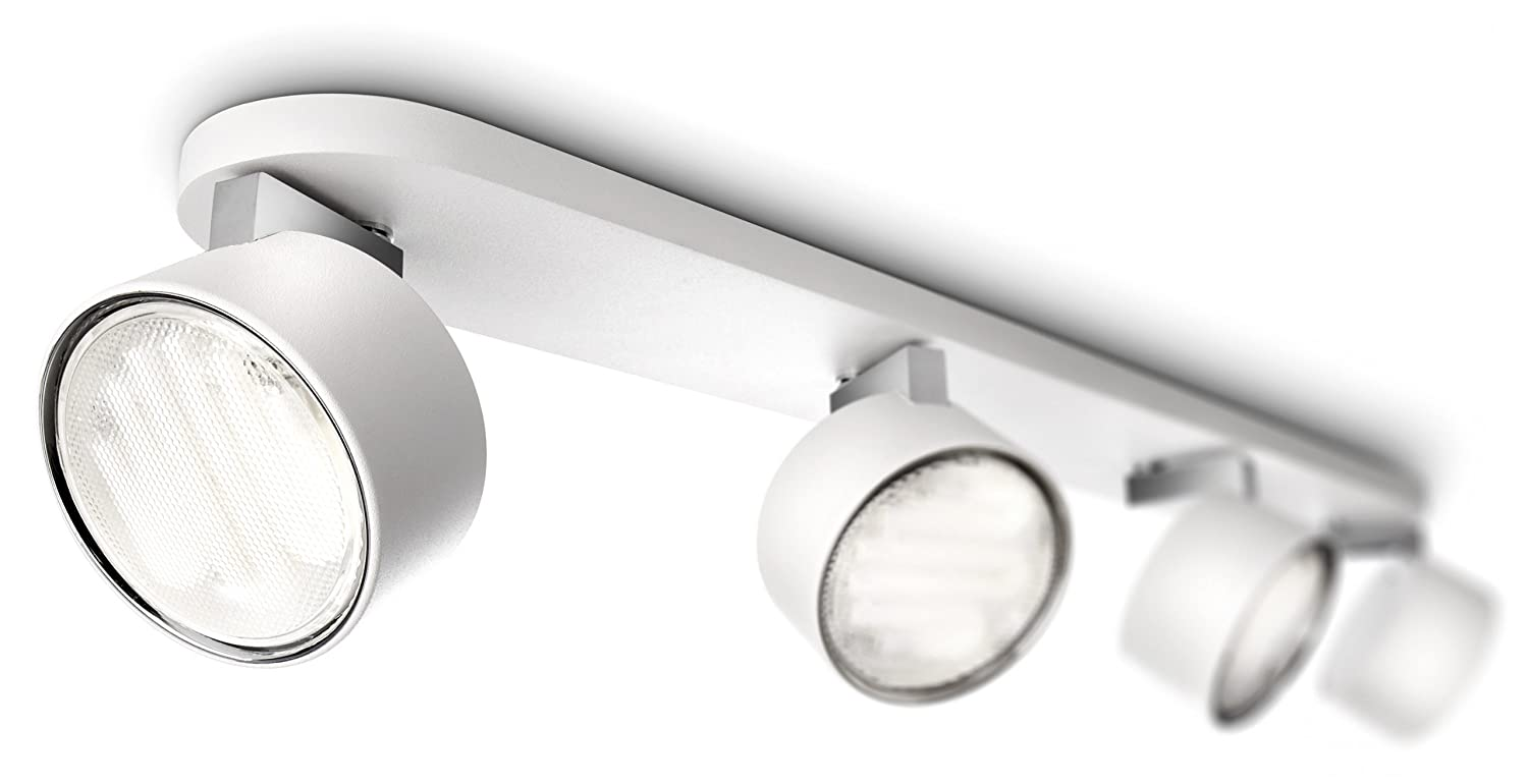 Plafoniera Tubo Led Philips : Integrato 4 x 3 w led b.. supporti luci philips myliving star bar