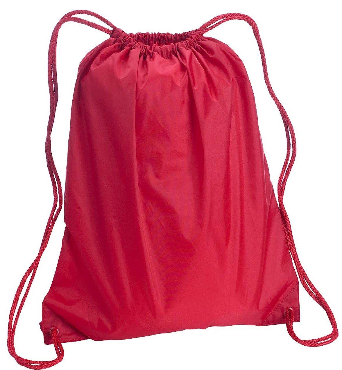 Amazon.com: Liberty Bags Large Nylon Drawstring Backpack: Clothing