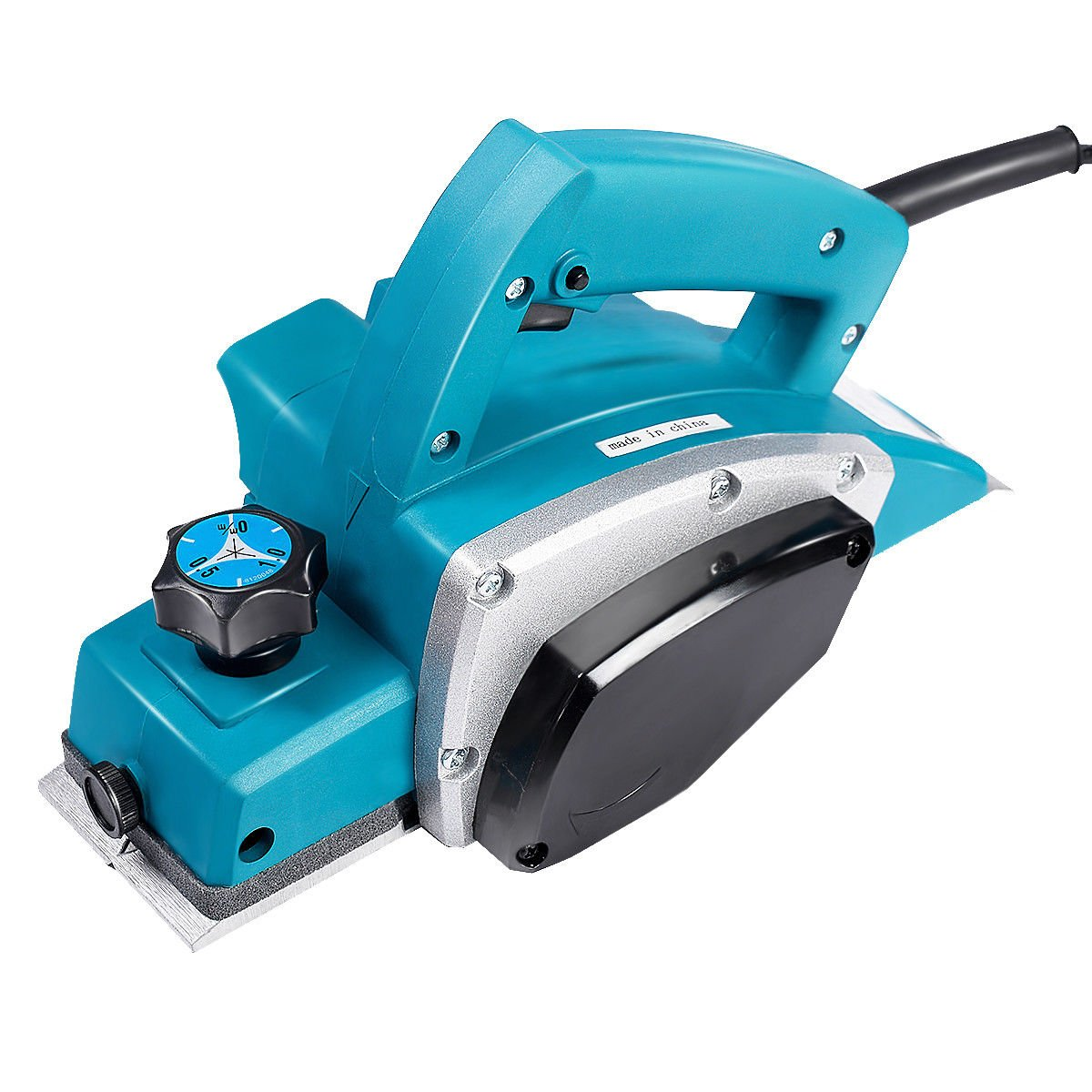 Wood Planer,110V Portable Electric Wood Planer Hand Held Woodworking Power Tool for Home Furniture by Estink