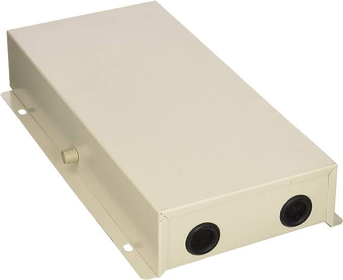 Cablematic - Caja distribuidora de fibra óptica metálica beige de 24 FO tipo 3: Amazon.es: Electrónica