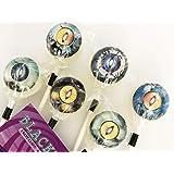 Lollipops Candy オカルトキャンディ 3D CREATURE EYES(ブラックベリー味) (6本セット)